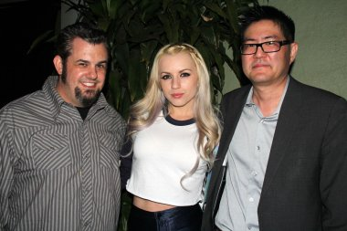 Brent Baisley and Lexi Belle