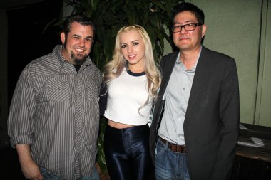 Brent Baisley, Lexi Belle and Gregory Hatanaka