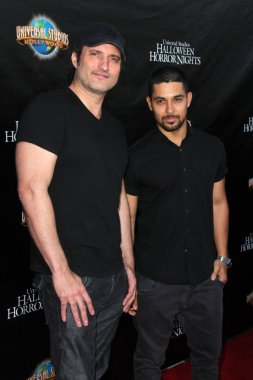 Robert Rodriguez and Wilmer Valderrama