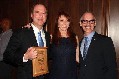 Adam B.Schiff, Cassandra Peterson, Mitch O'Farrell