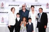 Vin Diesel, Paloma Jimenez, rodina
