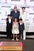 Vin Diesel, Paloma Jimenez, children