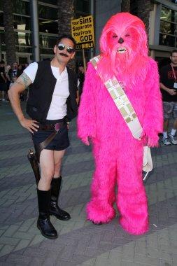 Gay Han Solo, Gay Chewbacca