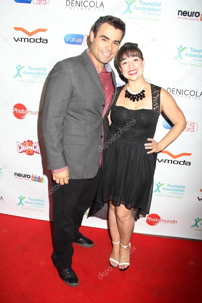 Devin Denicola Desiree Abeyta At The 1st Annual Teaming Up For Tourettes Fundraiser The Attic Hollywood Ca  Photo By S_bukley