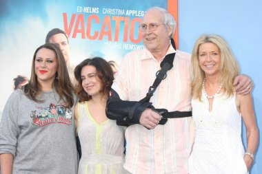 Chevy Chase and Family