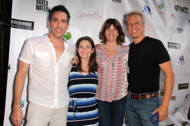 Patrick Fabian and family