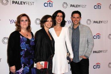 Donna Lynne Champlin, Rachel Bloom, Aline Brosh McKenna, Santino Fontana