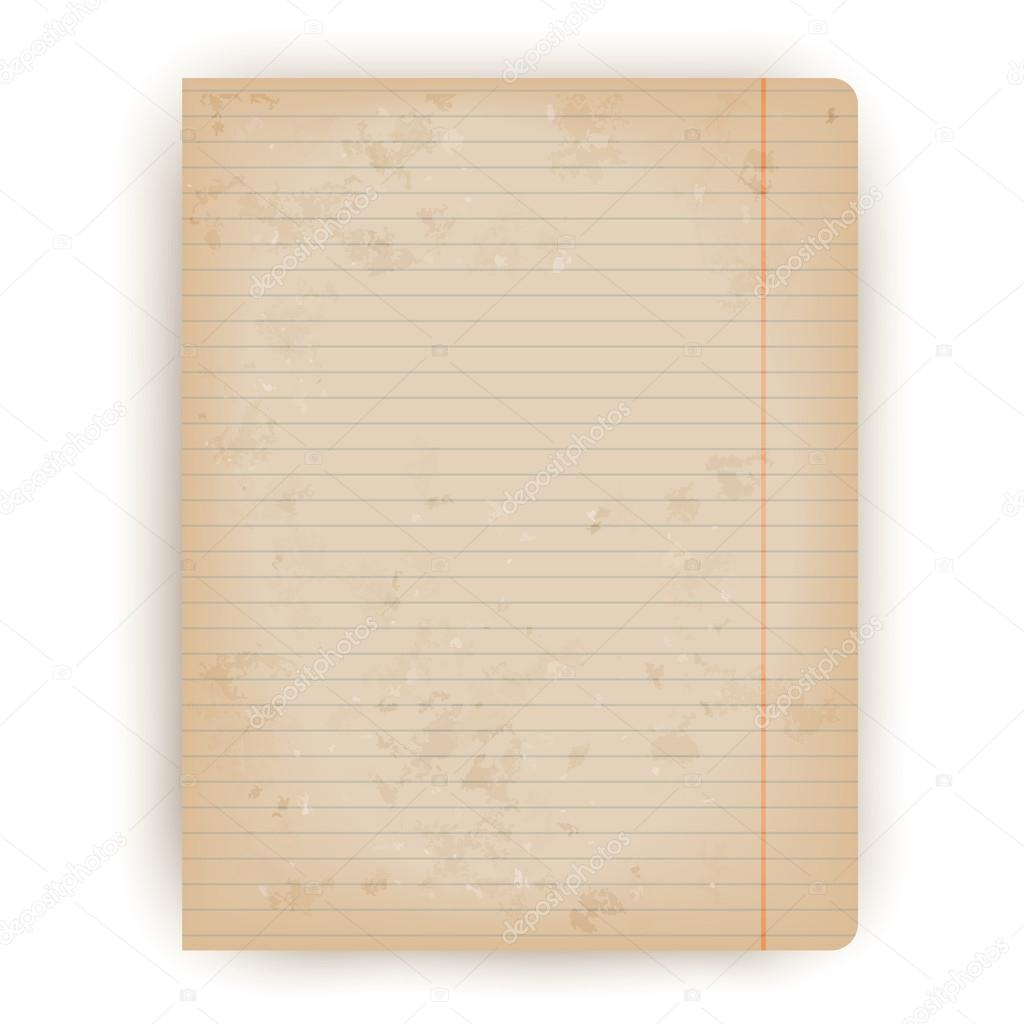 vintage lined paper vector background — stock vector © nata789 #68527231