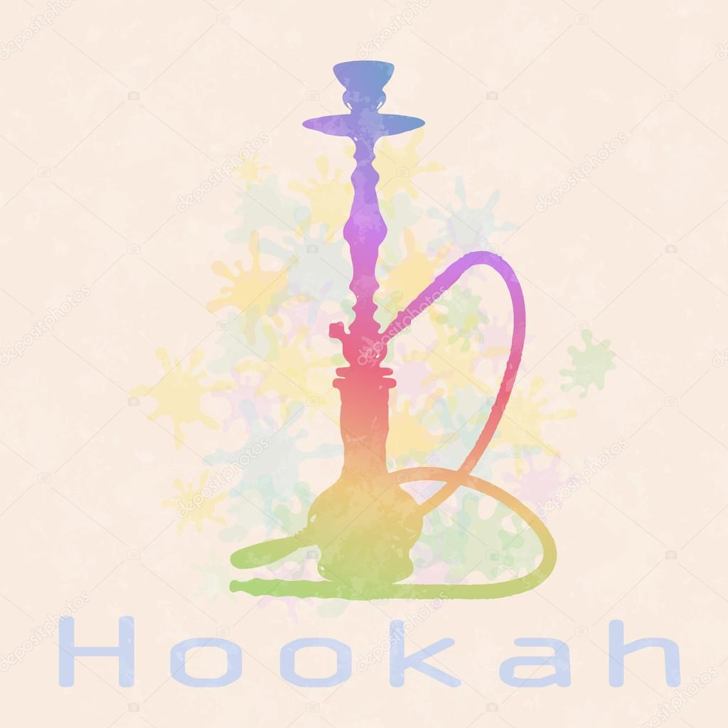Decorative hookah .