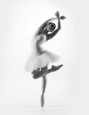 Young beautiful ballet dancer