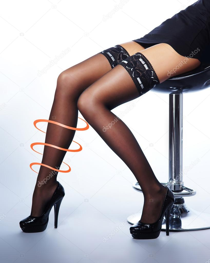 legs stockings Beautiful and