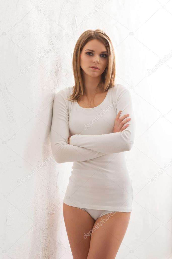 Women In White Panties Pics Photos