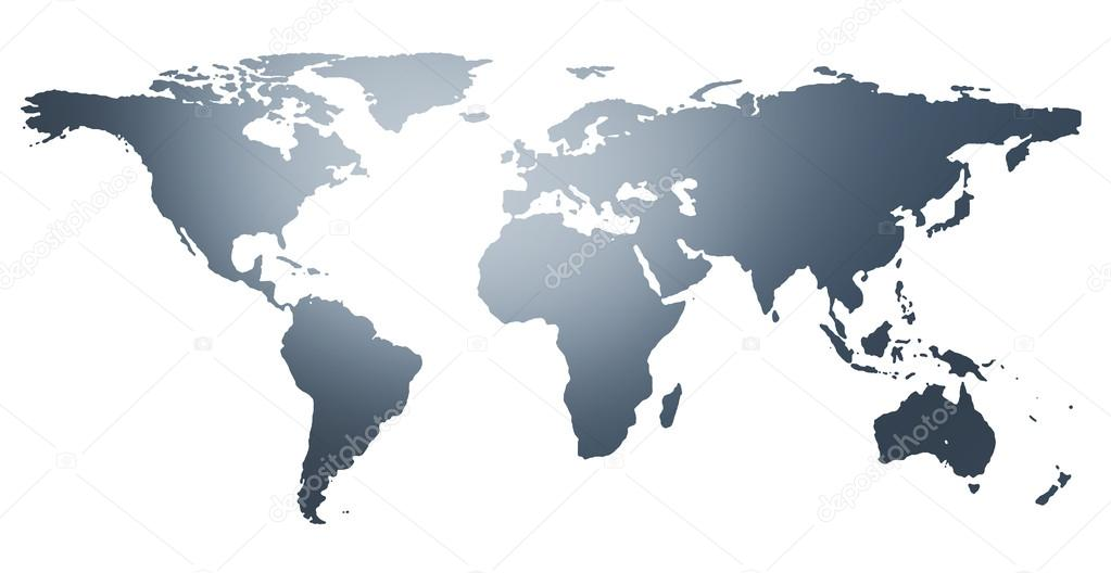 Illustration of the world map countries isolated on white illustration of the world map countries isolated on white background stock photo gumiabroncs Images