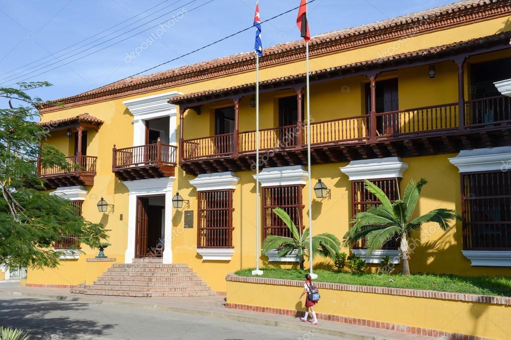Haus im Kolonialstil in Santiago De Cuba, Kuba ...