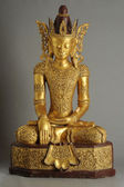 Barmské socha Buddhy