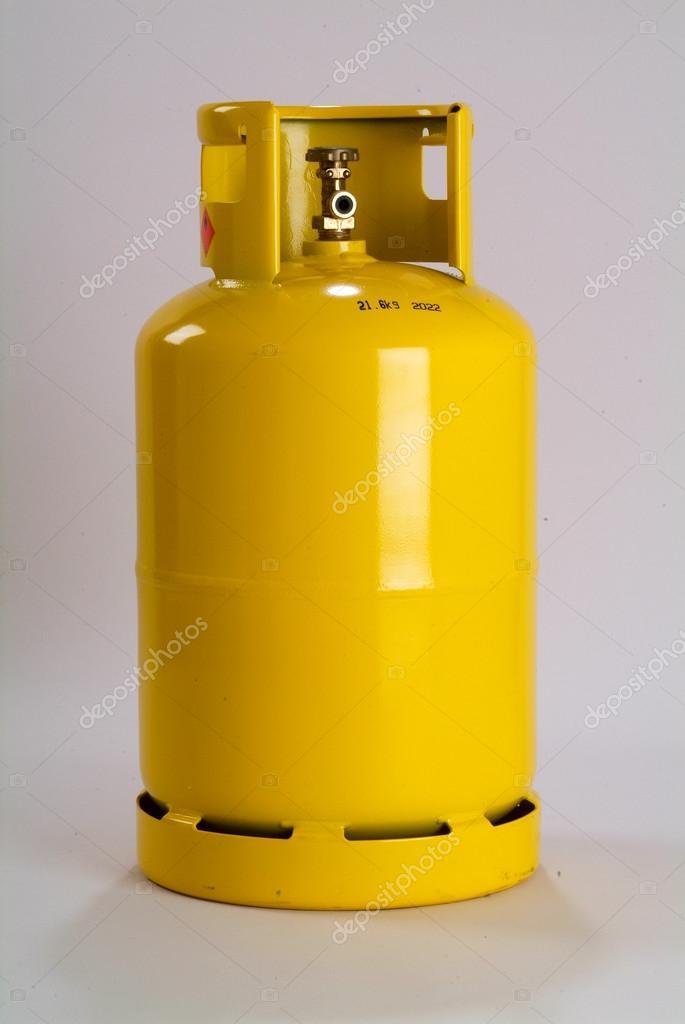 Bouteille de gaz jaune photographie fotoember 74773427 - Tarif bouteille de gaz ...