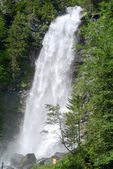 Waterfall at Engelberg in alps