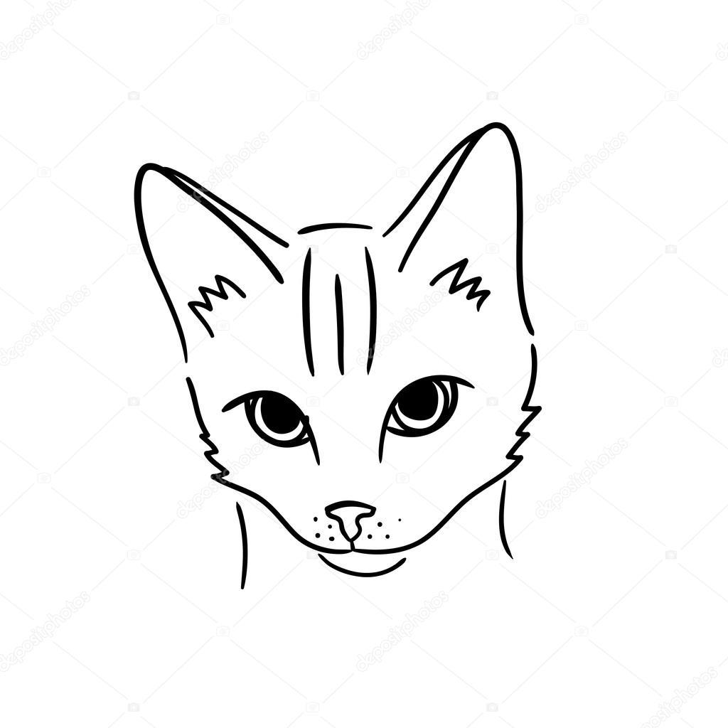 easy cartoon cats