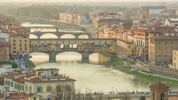 Florencie, brzy ráno, Itálie