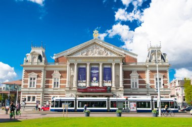 The Royal Concertgebouw in Amsterdam, the Netherlands.