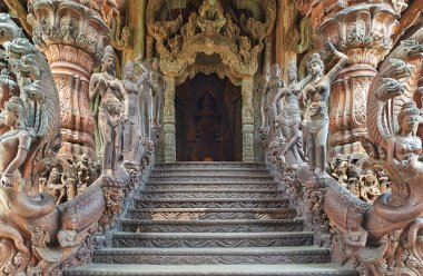 Sanctuary of Truth, Pattaya, Thailand.