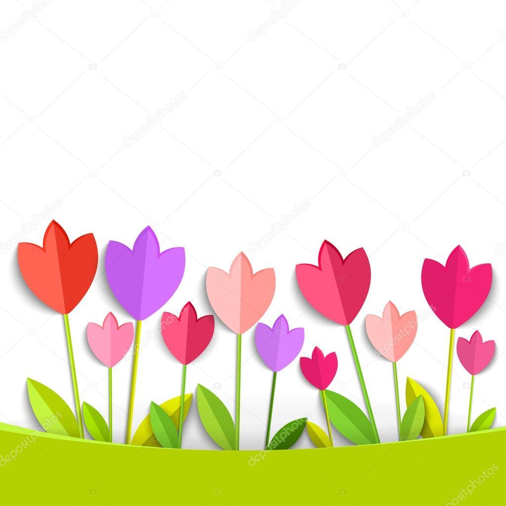 Vettore Di Tulipano Da Colorare Disegni Da Colorare Tulipani 3d
