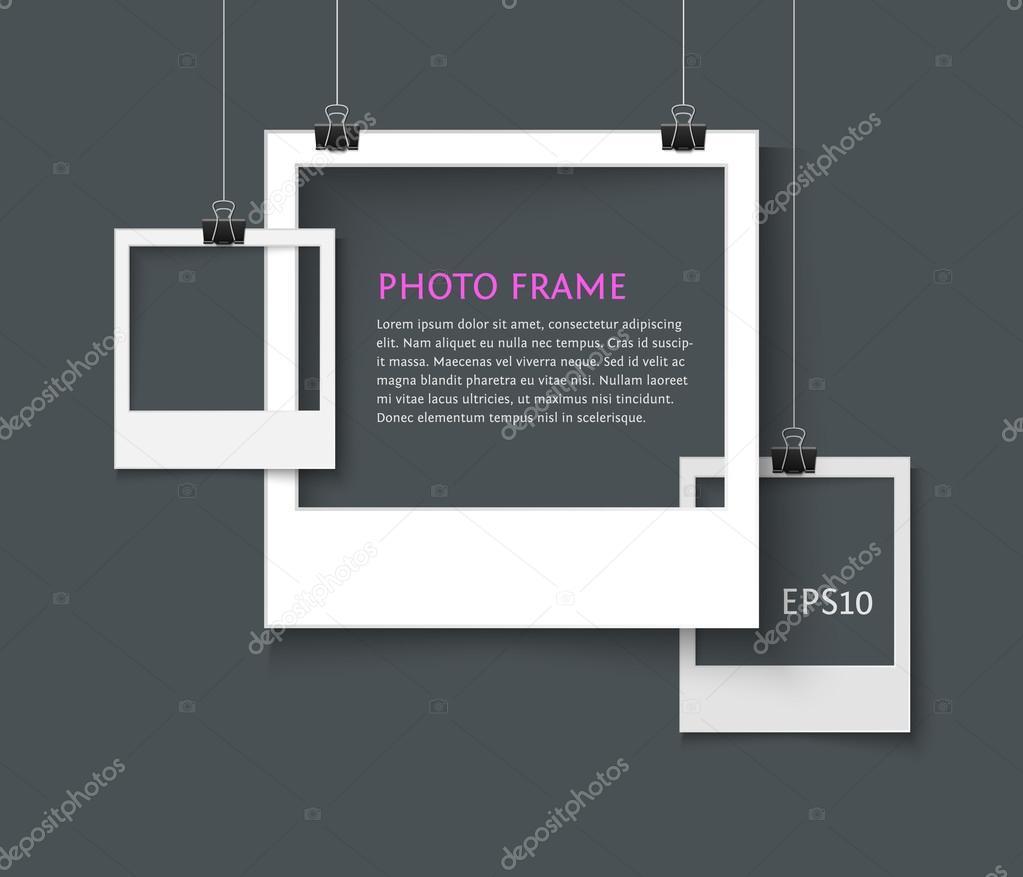 alten Stil-Fotorahmen — Stockvektor © voinSveta #102655718