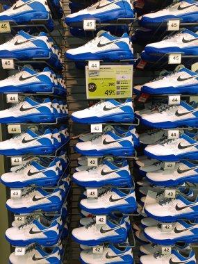 Nike shoes inside Decathlon Sport Store