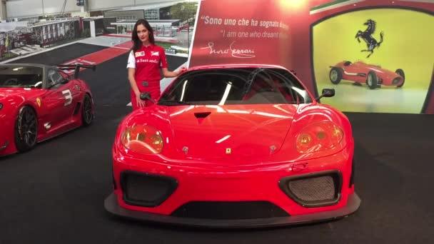 Motor Show Ferrari pavilon
