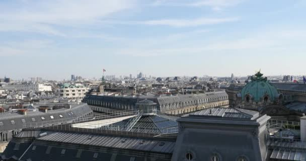 Paris Opera building view from Lafayette terrace