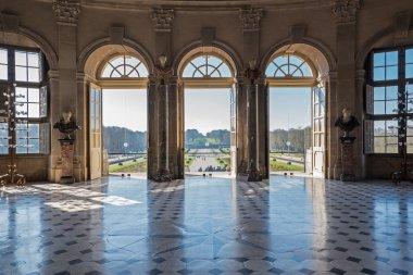 Vaux le Vicomte Castle interior in Paris