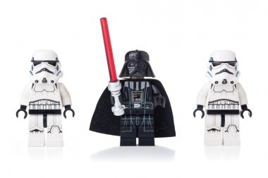 Star Wars Lego Darth Vader and Stormtroopers