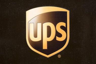 UPS logo detail