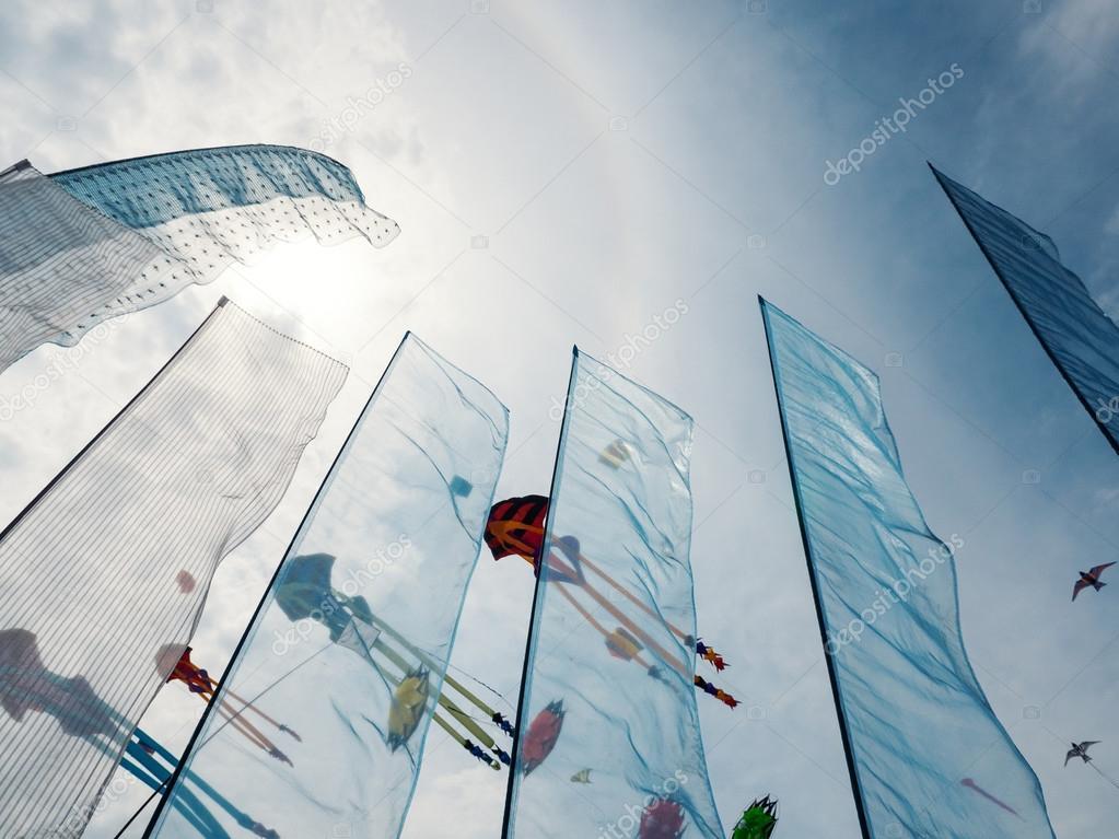 Sky full of kites for International Kite Festival
