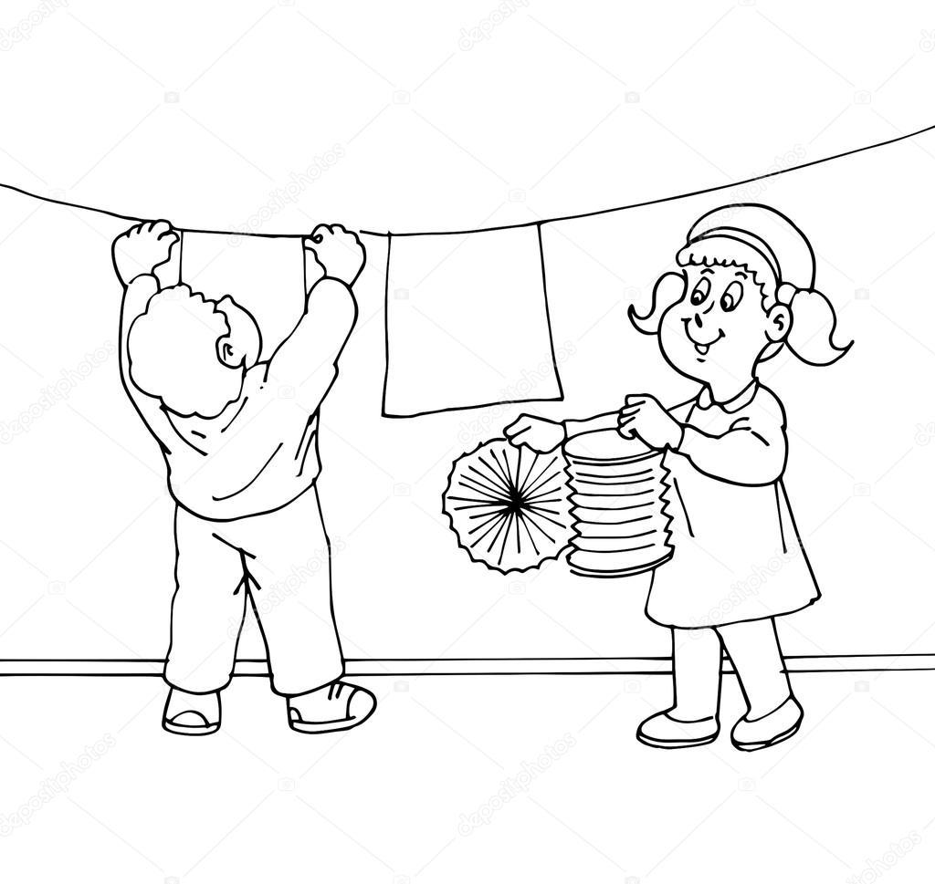 jardín de infantes, preescolar, schoo — Fotos de Stock © bordoressam ...