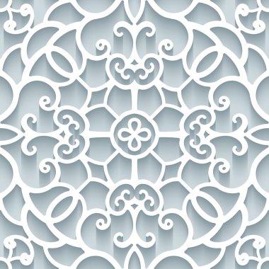 Paper lace texture