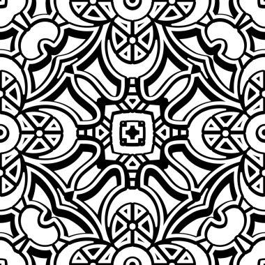Vintage lattice pattern