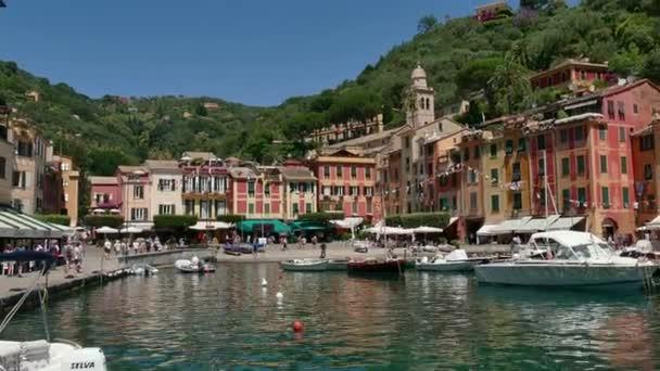 Boats in Port in Portofino Italy Mediterranean Sea Village Travel