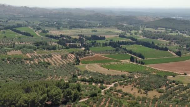 Venkov v Provence Francie a francouzské letní krajina