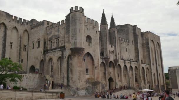 Palác papežů Avignon Francie Unesco světového dědictví UNESCO