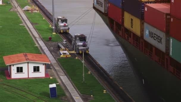 5of19 Panama city, hajó, teherszállító hajó, hajó, a közlekedés, a konténerek, a csatorna