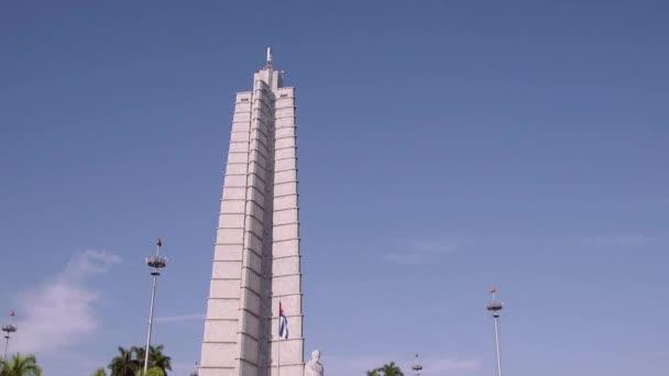 Cuba, La Habana, Havana, Plaza de la Revolucion, Jose Marti statue