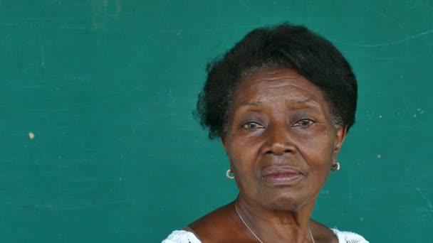 8 Black Elderly People Portrait Depressed Senior Woman Face Expression