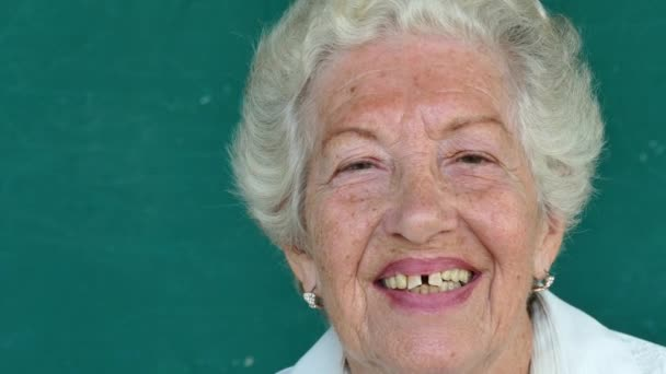 16 White Senior People Portrait Happy Old Woman Smiling Face