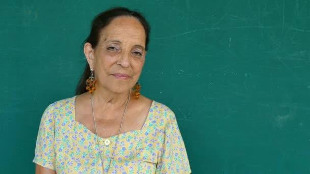 20 Hispanic Old People Portrait Serious Senior Woman Face Expression