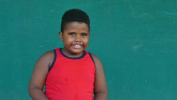 48 African American Kids Portrait Happy Child Smiling Face Expression