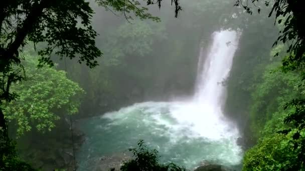 Vodopád laguny Rainforest džungle Tenorio sopky národní Park Costa Rica