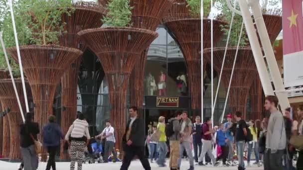 Vietnam Pavilion Milan Milano Expo 2015 Italy International Exposition Exhibitio