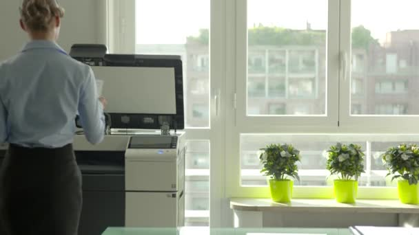 Dívka obsazeno podnikatelka Manager obchodní žena sekretářka v kanceláři