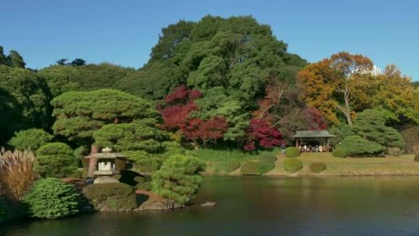 Přírodní krásy Park zahrady podzim podzim krajina Tokyo Japonsko Asie